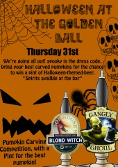 halloween at the pub